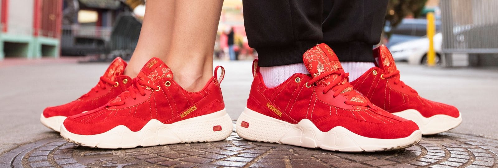 Chinese New Year shoes by K-Swiss