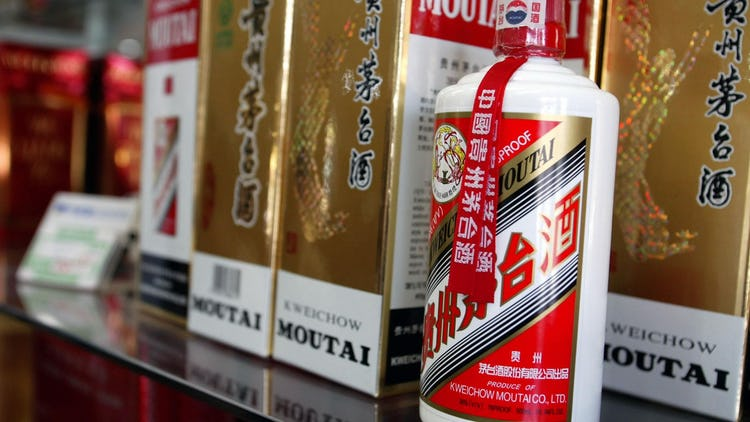 Chinese moutai (white wine)