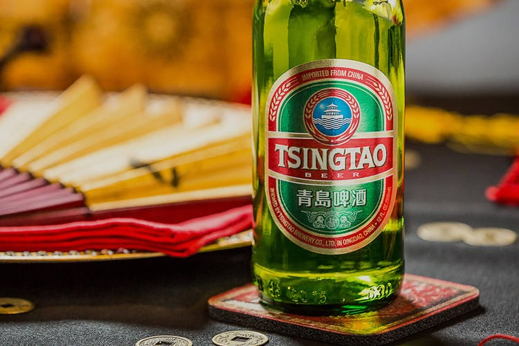 Chinese Tsingtao beer