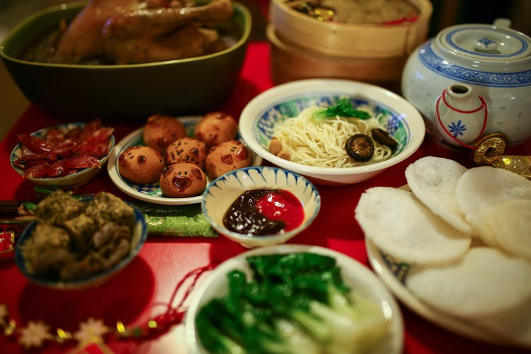 Chinese new year food chinese new year 2018 chinese new year traditional dinner forumfinder Images