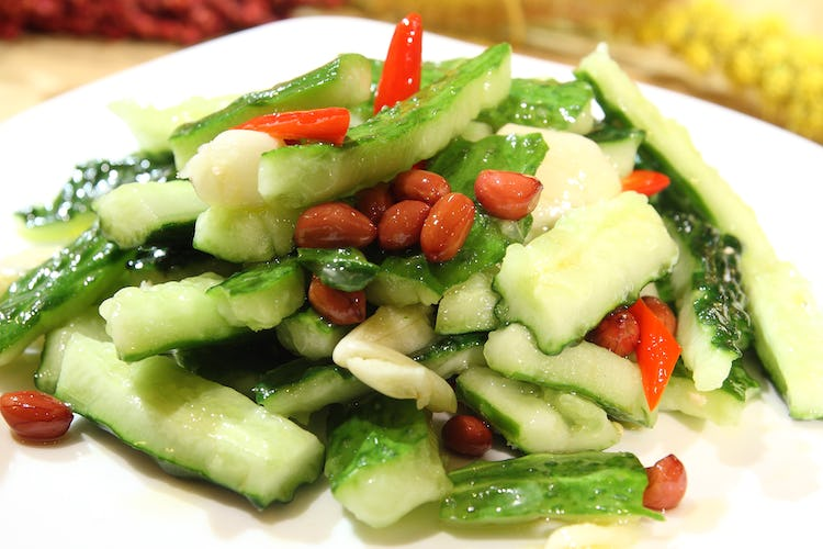Chinese New Year vegetables