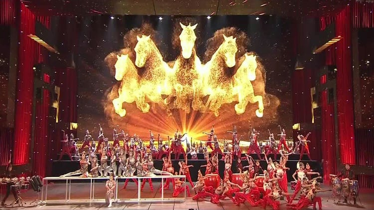 Chinese New Year gala performance