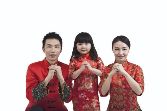 chinese new year family greetings