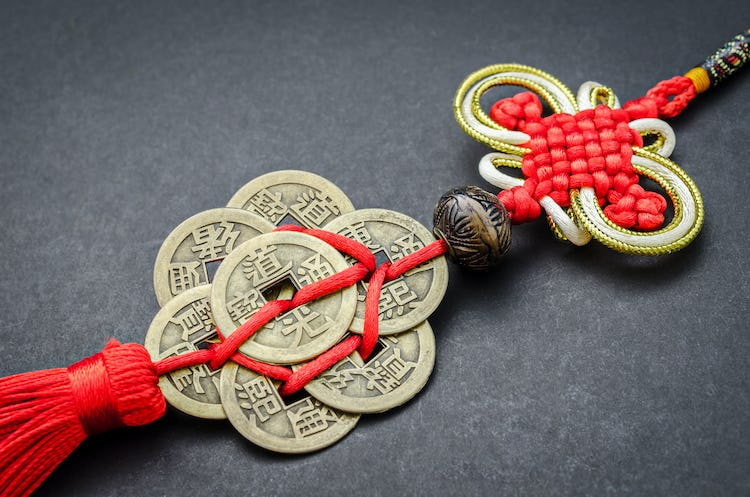 Chinese New Year ancient coins